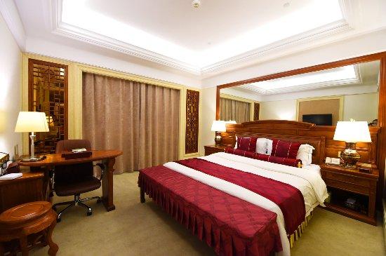 Zhangjiagang, Chine : 新迎宾楼至尊红木单人套间
