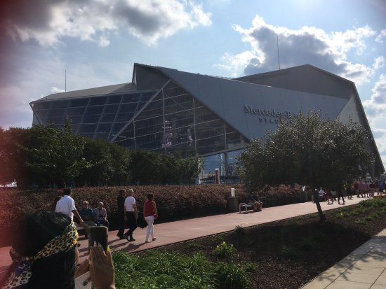 Atlanta Marriott Buckhead Hotel & Conference Center: We love buckhead area and Decatur! We also love the new Mercedes sports arena . Watched our firs