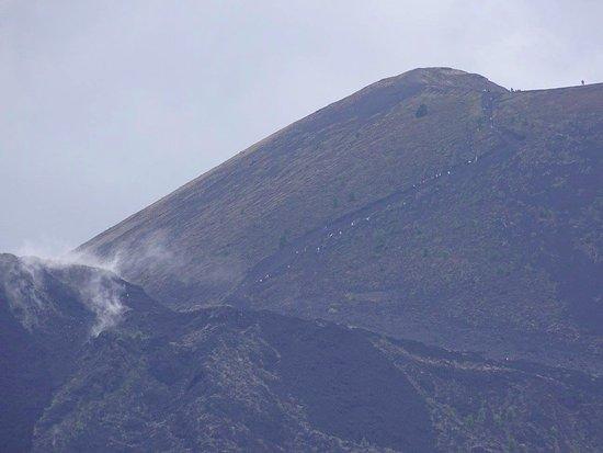 Paricutín Volcano: L'ascension à pied du volcan