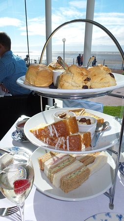 The Sun Terrace Restaurant: Afternoon tea selection
