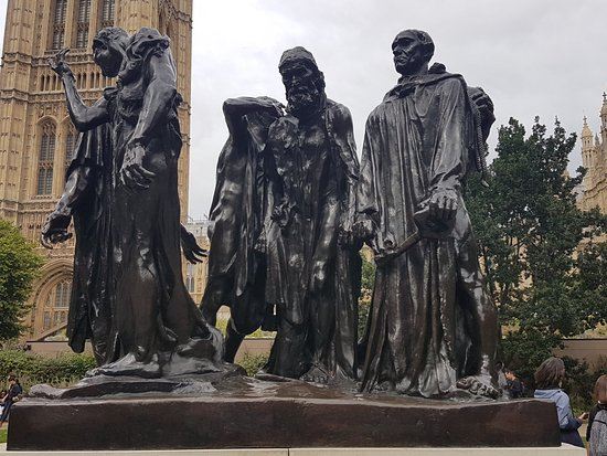 The Victoria Tower Gardens: The Burghers of Calais