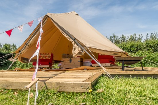 Lanivet, UK: Poppy Bell Tent