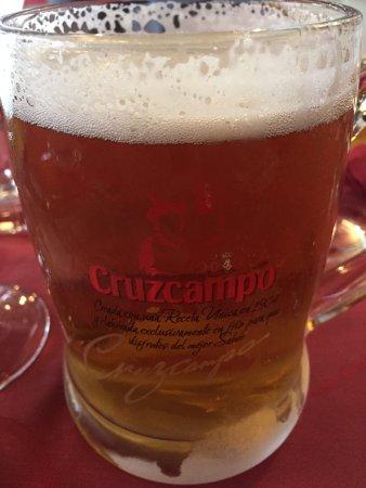 Gran Plaza: Kall öl
