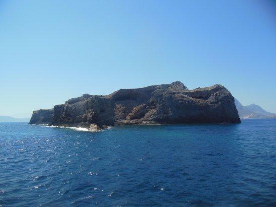 Trachilos, Grèce : Паром в бухту Балос