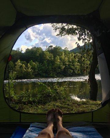 เออร์วิน, เทนเนสซี: the view for my 3 nights can make anyone smile