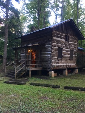 Erwin, TN: So many options if you like lodging. Here is one of the cabins.