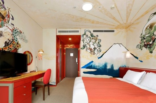 Park Hotel Tokyo: Artist Room Mount Fuji