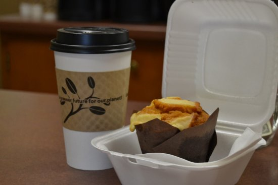 Shawano, WI: Get your favorite beverage and a snack, breakfast, or lunch through our convenient DRIVE THRU
