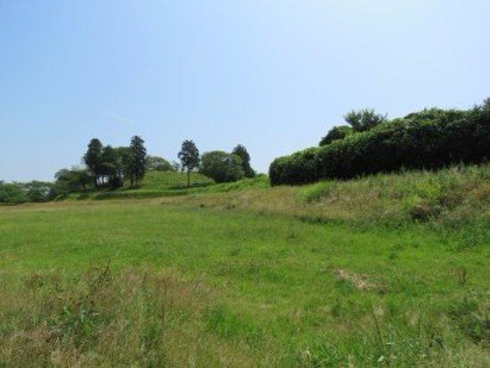 Natori, Japón: 前方後円墳の形がわかります
