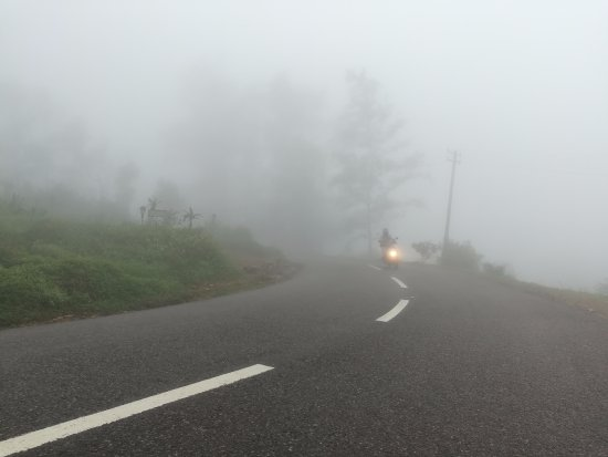 Ponmudi hill top