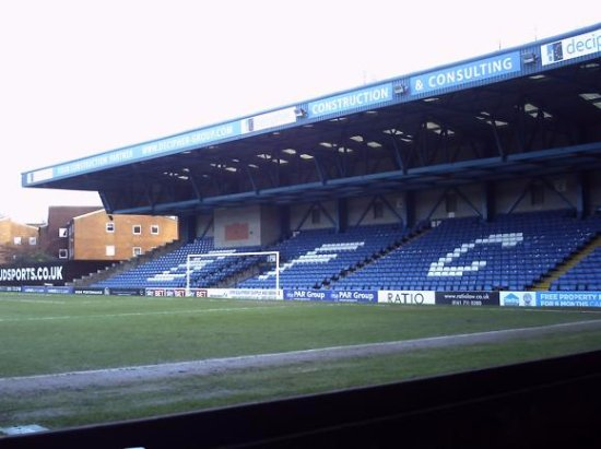 Bury, UK: The Away End of Gigg Lane