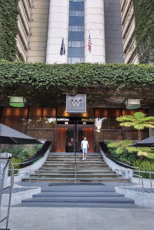W Los Angeles West Beverly Hills Entrance Of Hotel