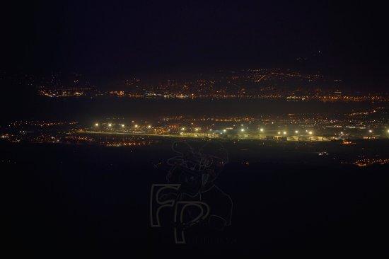 Santuari de Cura: Vistas Aeropuerto de Palma