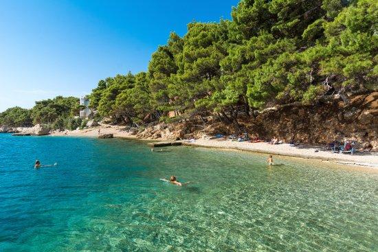 Lokva Rogoznica, Croácia: Beach Ruskamen