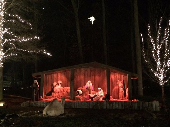 billy graham library live nativity at christmas