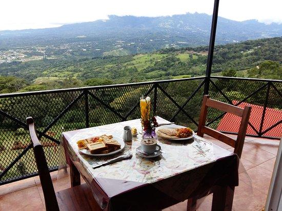 Cabanas El Parador: Desayunos en El Parador