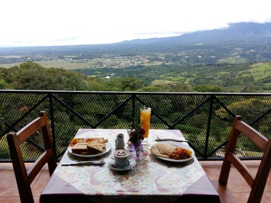 Cabañas El Parador: Desayunos en El Parador