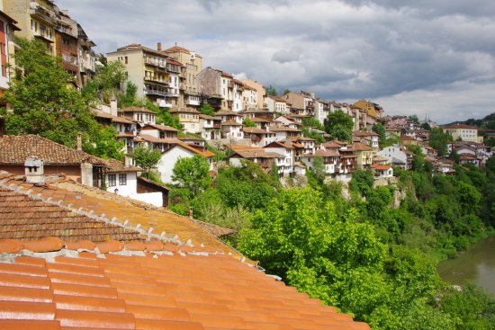 Hotel Gurko: The old town.