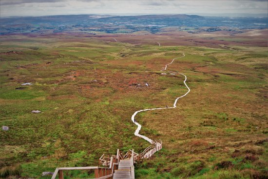 Cuilcagh Legnabrocky Trail: View from the top