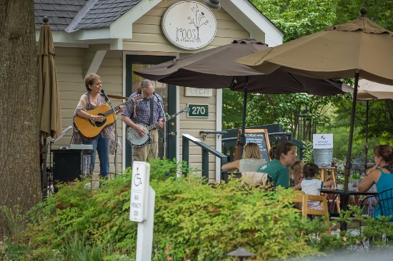 Pittsboro, NC: Roost Beer Garden is a seasonal venue featuring live music, wood-fired pizza and local brews Thu