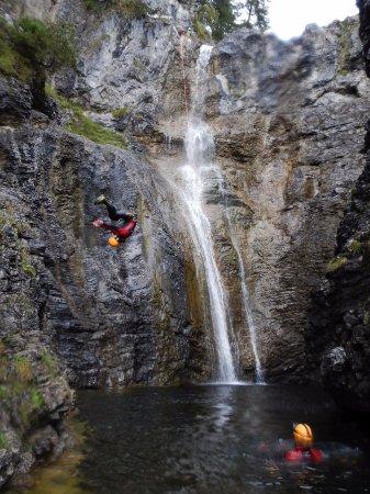 stuibenfälle canyoning