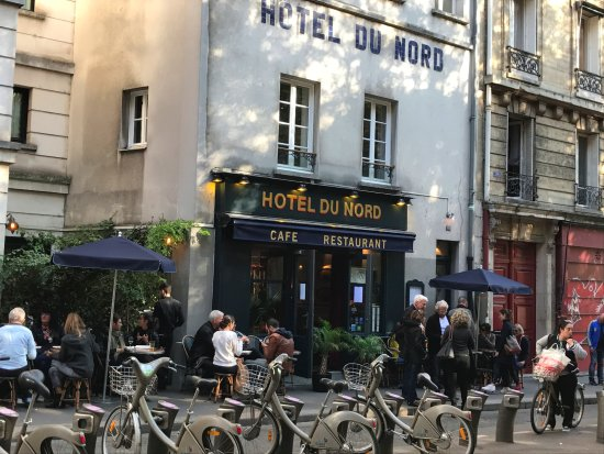 hotel du nord paris canal saint martin restaurant reviews phone number photos tripadvisor. Black Bedroom Furniture Sets. Home Design Ideas