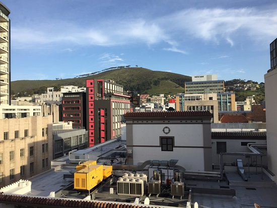 Holiday Inn Express Cape Town City Centre: Table Mountain