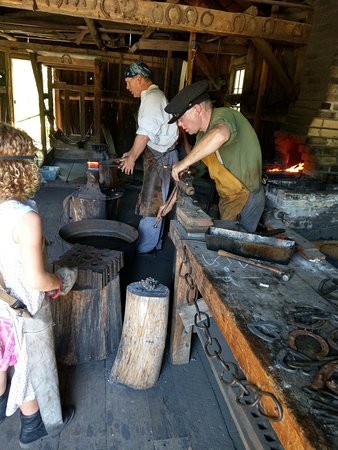 Wade House: Blacksmith Shop