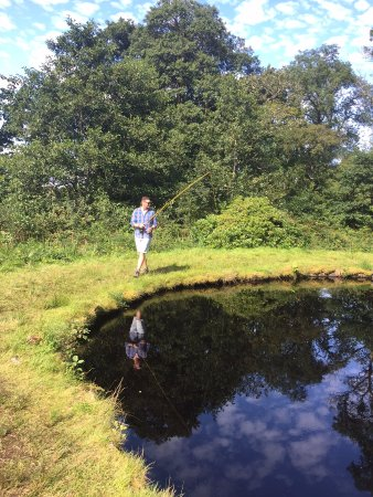 Taynuilt, UK: Fishing for Trout