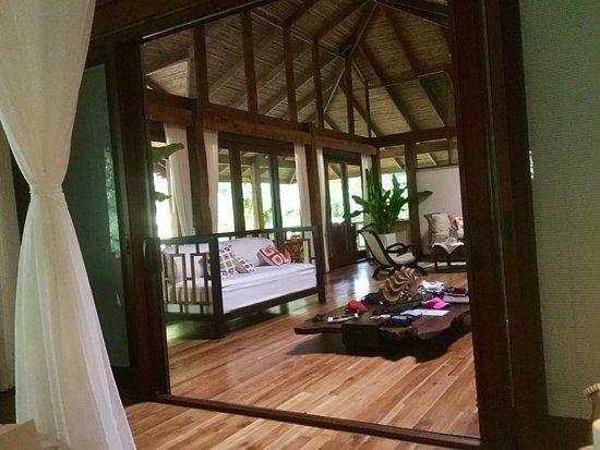 Pacuare Lodge: Living area of Jaguar Villa