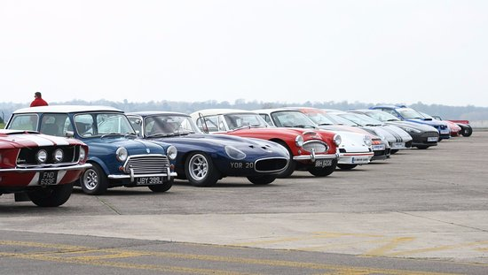 Upper Heyford, UK: Supercar and Classic Car Driving Experiences