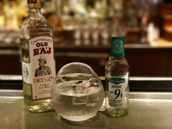 Bar Boulud: Gin and Cardamon Tonic