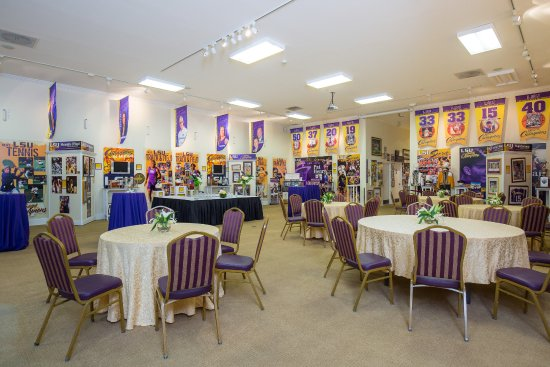 The Cook Hotel and Conference Center at LSU : The Andonie Museum is available for rental space for receptions, meetings, and corporate functio