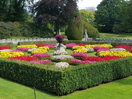 Ordinaire Lanhydrock House And Garden: Formal Flower Bed