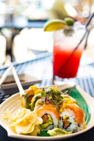 Latitude 43: Salmon Sushi Roll