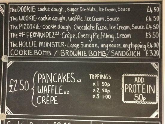 Wigston, UK: The Rockies Dessert House