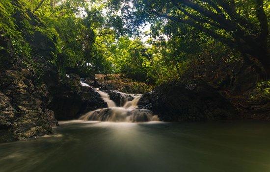 Cascade trail at Eco Venao