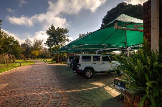 Benoni, Sydafrika: Ample off road parking