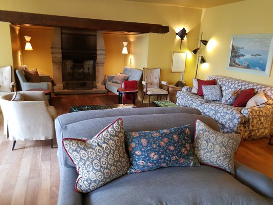 Hotel Tresanton: One of the lounges