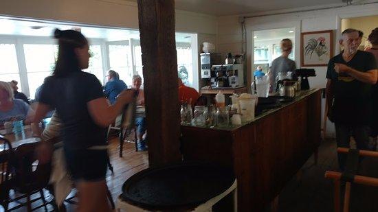 Saugatuck, MI: entry and service bar
