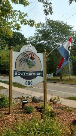 Saugatuck, MI: sign outside