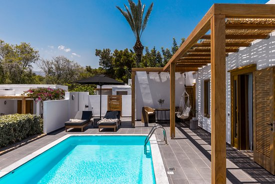 Pool - Picture of Minos Beach Art Hotel, Crete - Tripadvisor