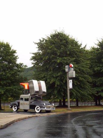 "Bradford, PA: Zippo's ""touring car""."