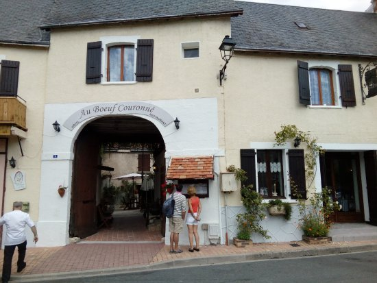 Mezieres-en-Brenne, Frankrike: ancien relais de diligence,une bonne table de terroir au pays des mille étangs