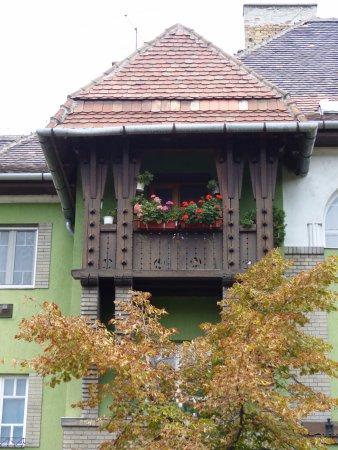 Wekerle District: balcony