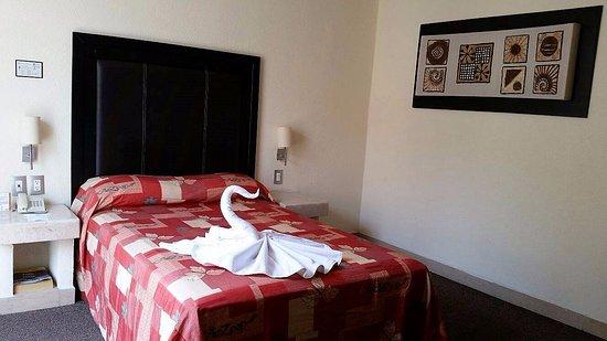 Posada Guadalupe Hotel: Habitación sencilla matrimonial - con vista a exterior