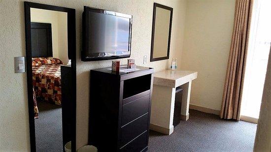 Posada Guadalupe Hotel: Habitación doble matrimonial- vista exterior,