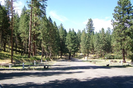 Heppner, OR: Anson Wright Campground