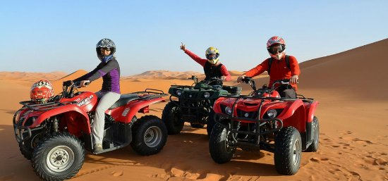 Marrakesh Quad Biking: Marrakech Quad Biking Desert
