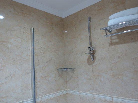 Bath Tub And Shower No Door Or